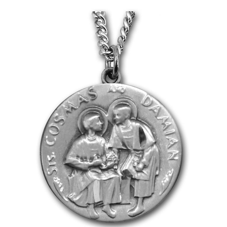 Sts. Cosmas & Damian Sterling Medal