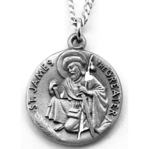 St. James the Greater Pewter Medal