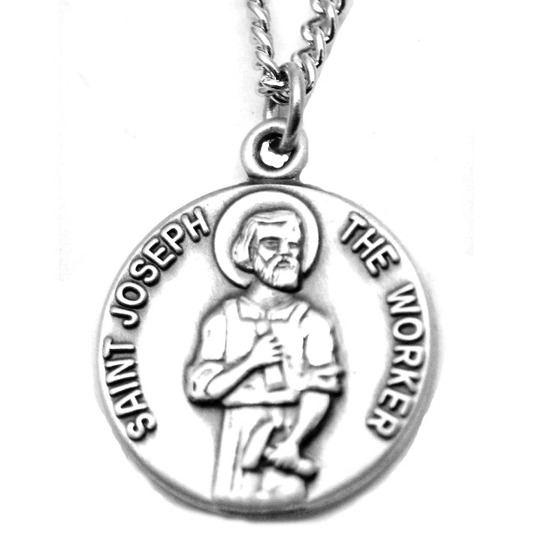 St. Joseph the Worker Sterling Medal