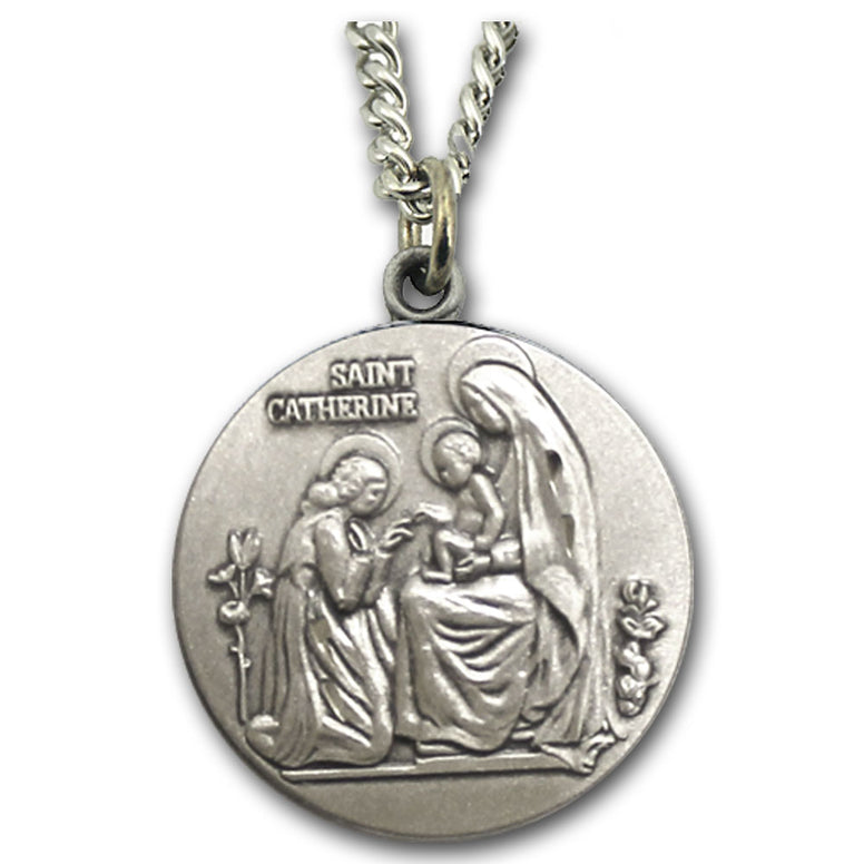 St. Catherine of Siena Sterling Medal