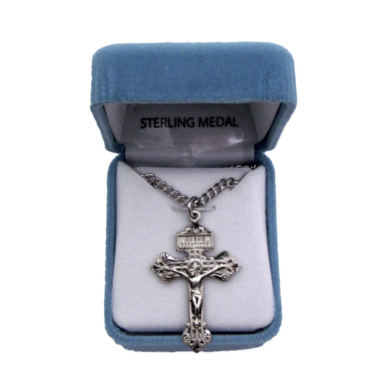 "1.5"" Pardon Crucifix on Chain"
