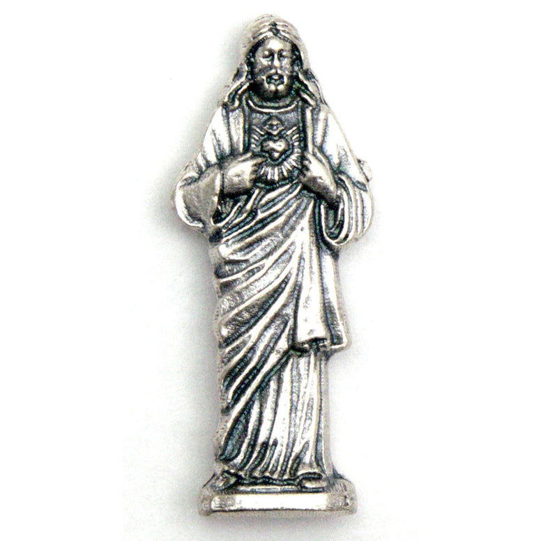 Sacred Heart Pocket Statue