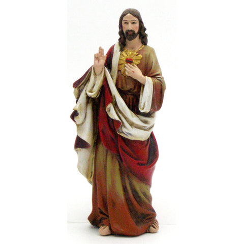 "6"" Sacred Heart of Jesus"