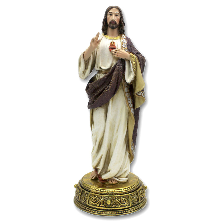 Sacred Heart Statue: 10¼""