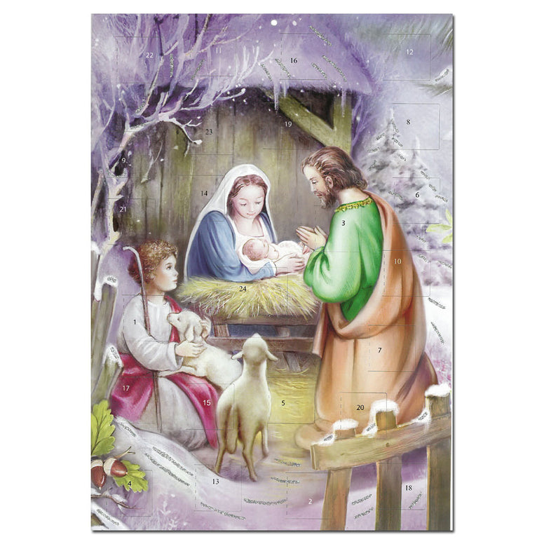 Advent Calendar: Away in a Manger