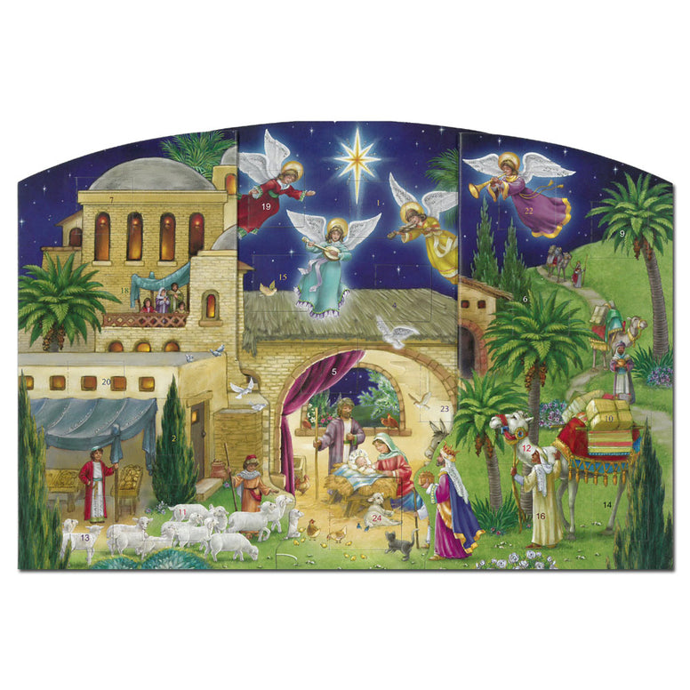 Bethlehem Nativity Advent Calendar