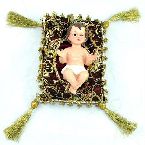"5"" Baby Jesus on Cushion"