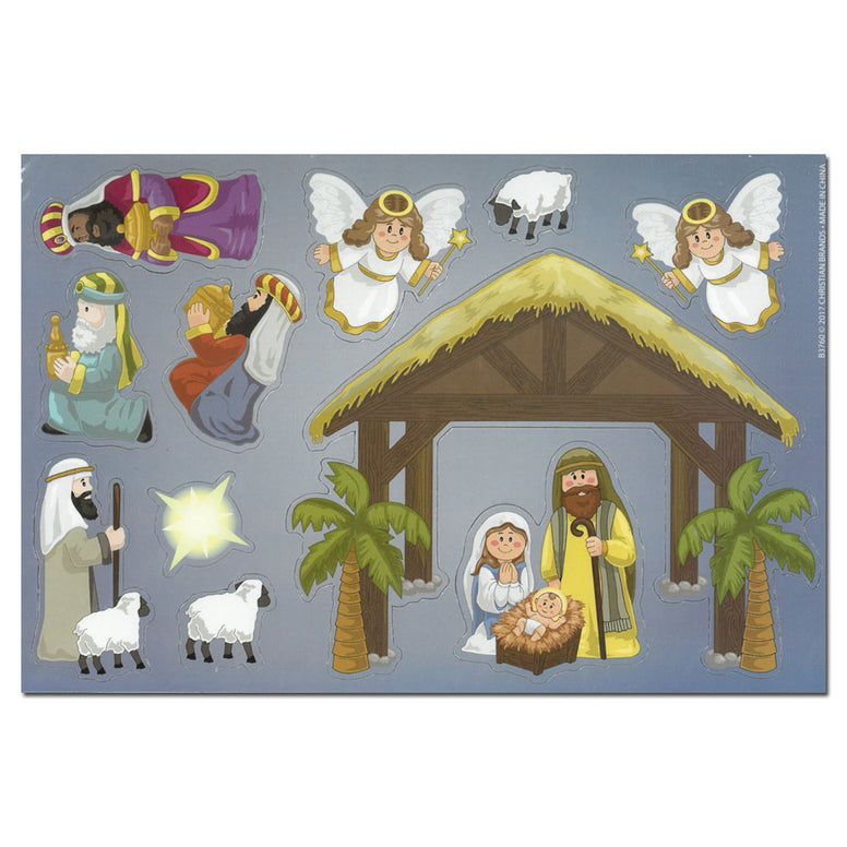Magnet Set: Nativity