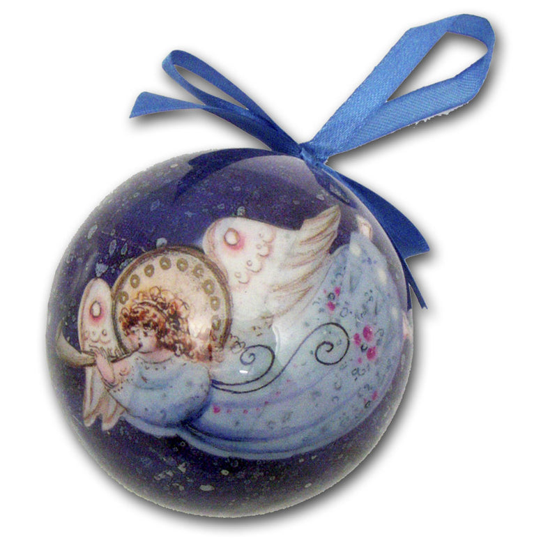 Angel Decoupage Ornament