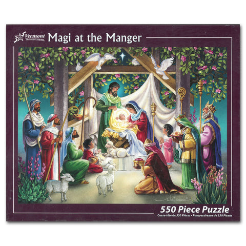 Magi at the Manger 550-piece Puzzle