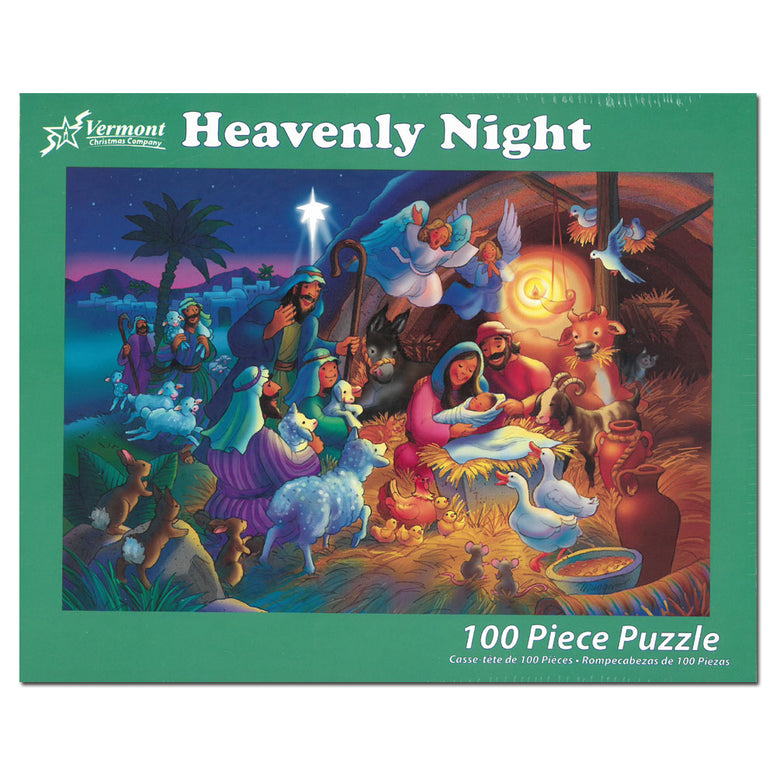 Heavenly Night: 100-piece Puzzle