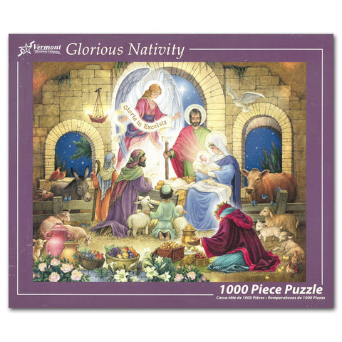 Glorious Nativity 1000-piece puzzle