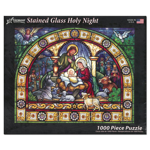 Stained Glass Holy Night Puzzle