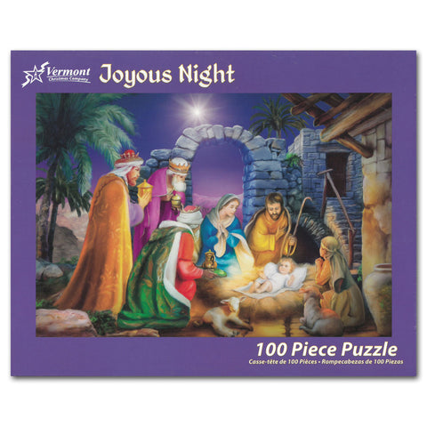 Joyous Night 100-piece Puzzle