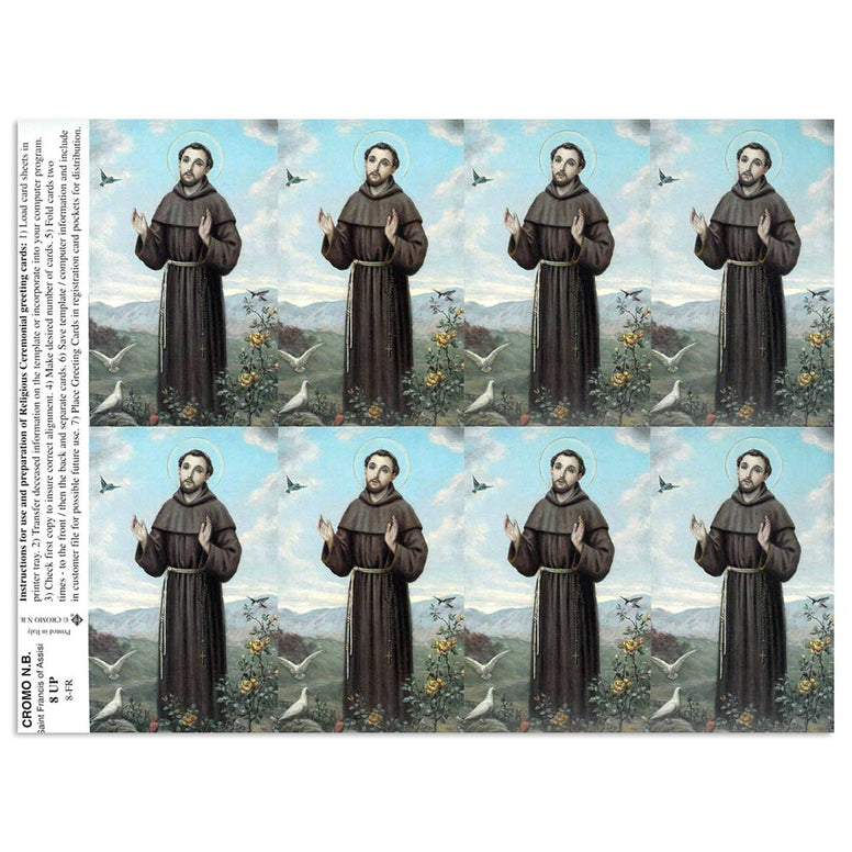 St. Francis Holy Cards