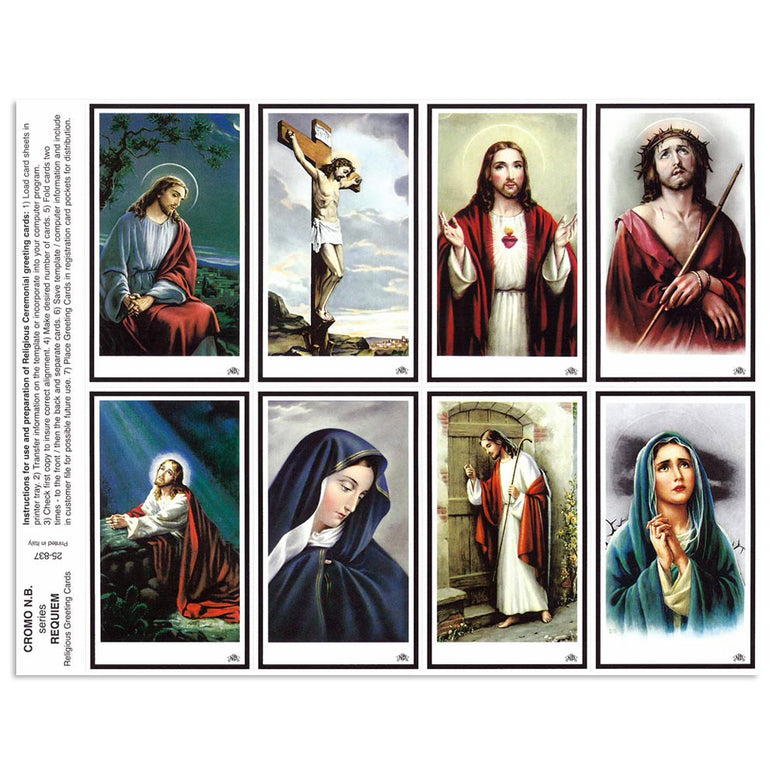 Requiem Assorted Holy Cards