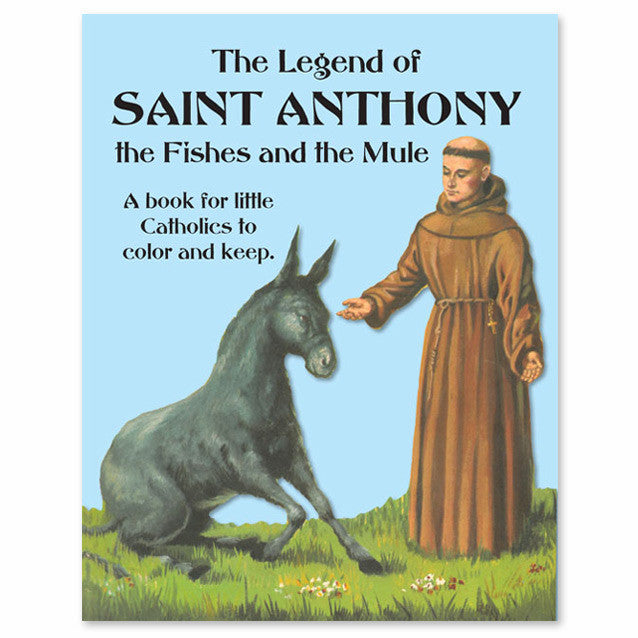 The Legend of St. Anthony Coloring Book