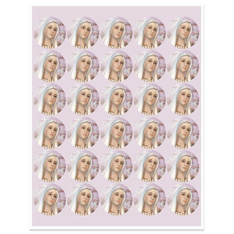 Our Lady of Fatima Stickers