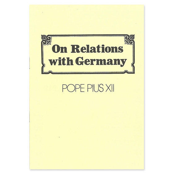 Relations with Germany