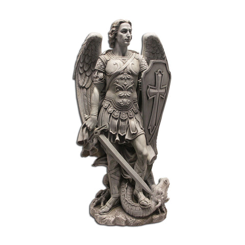 St. Michael Warrior Statue: 24""