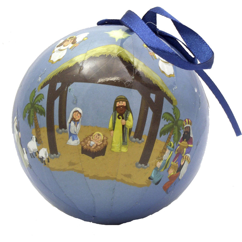Children's Nativity Decoupage