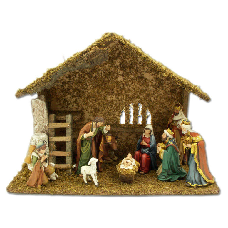 "Nativity Set: 5"" 9-piece"