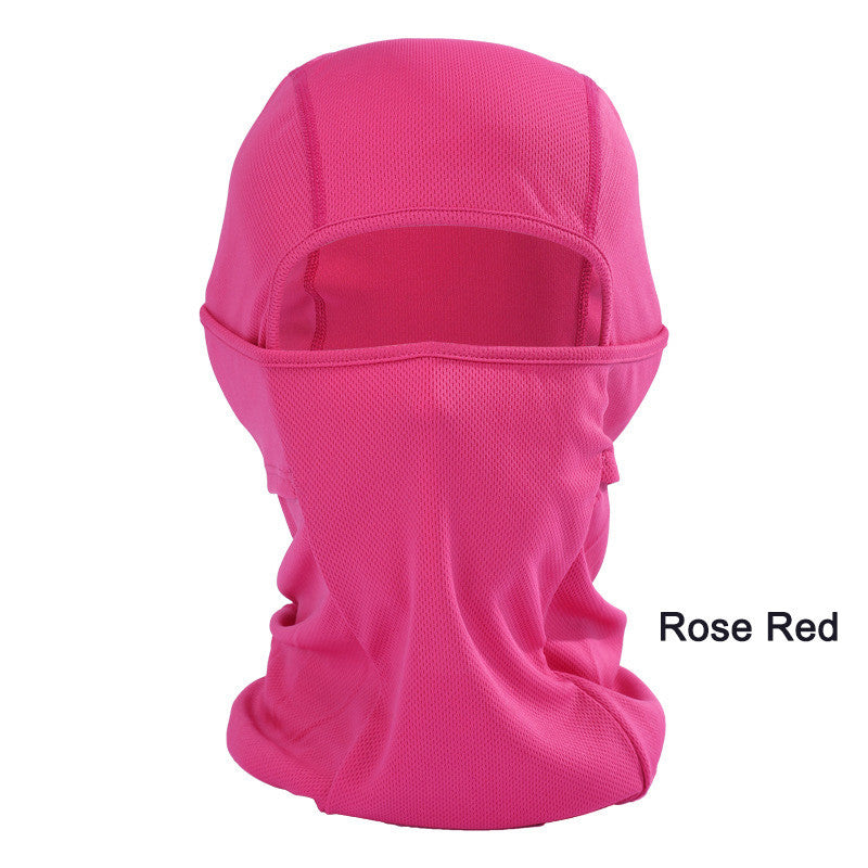 Windproof Mask Quick-Drying Breathable Anti UV Soft Face Mask Cycling Motorcycle Balaclava