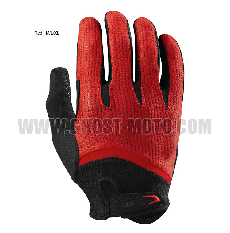 Long Finger Cycling Glove Gel Touch Screen  Bicycle Gloves for Men/ Women