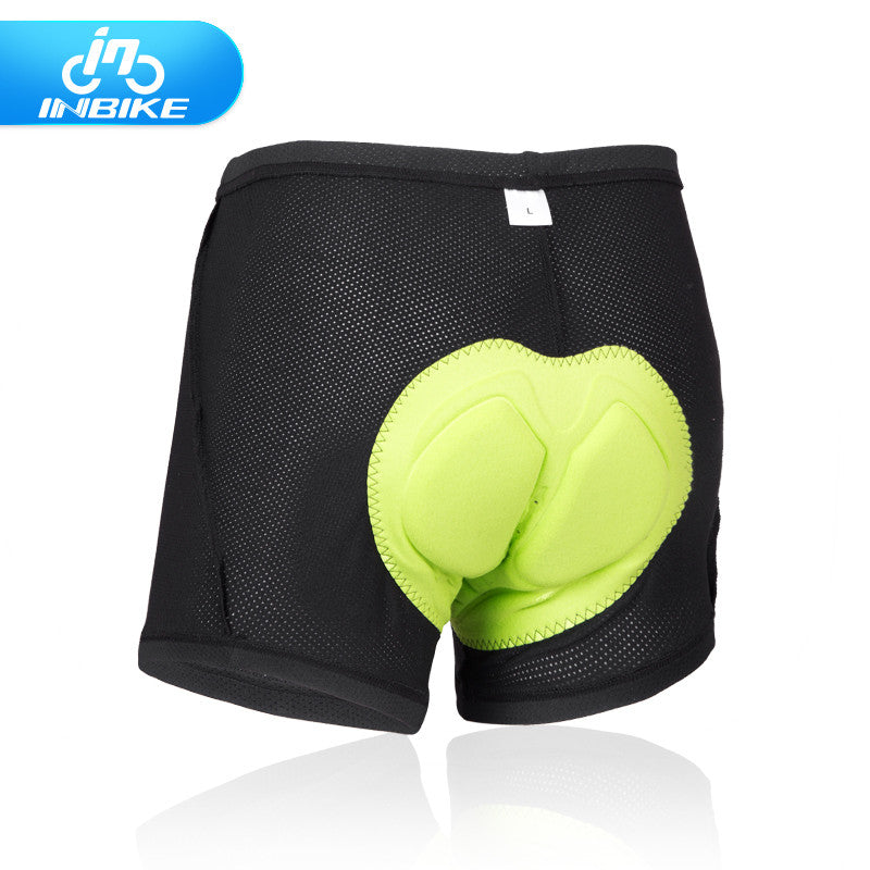 Inbike Cycling Shorts Men Breathable 3D Padded Cycling Underwear Shorts for MTB Road Bike IA16510