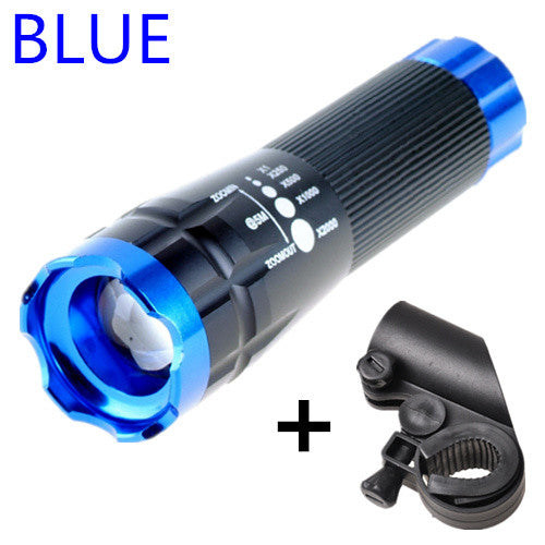 HOT Cycling Head Flashlight LED Bicycle Front Waterproof  Mount Penlight 2000 Lumens Rotary
