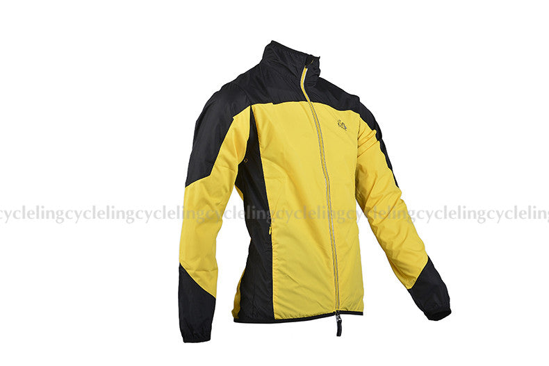 ROCKBROS Reflective Breathable Cycling Long Sleeve Windproof Quick Dry Jacket