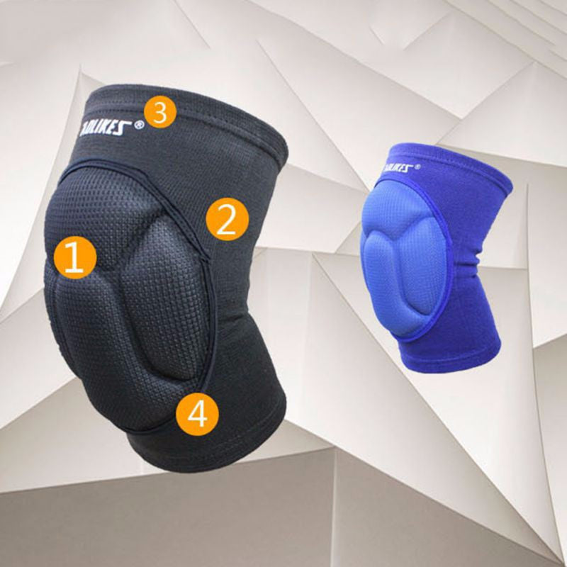 2017 Thickening Football Volleyball Extreme Sports knee pads  support  Cycling Knee Protector