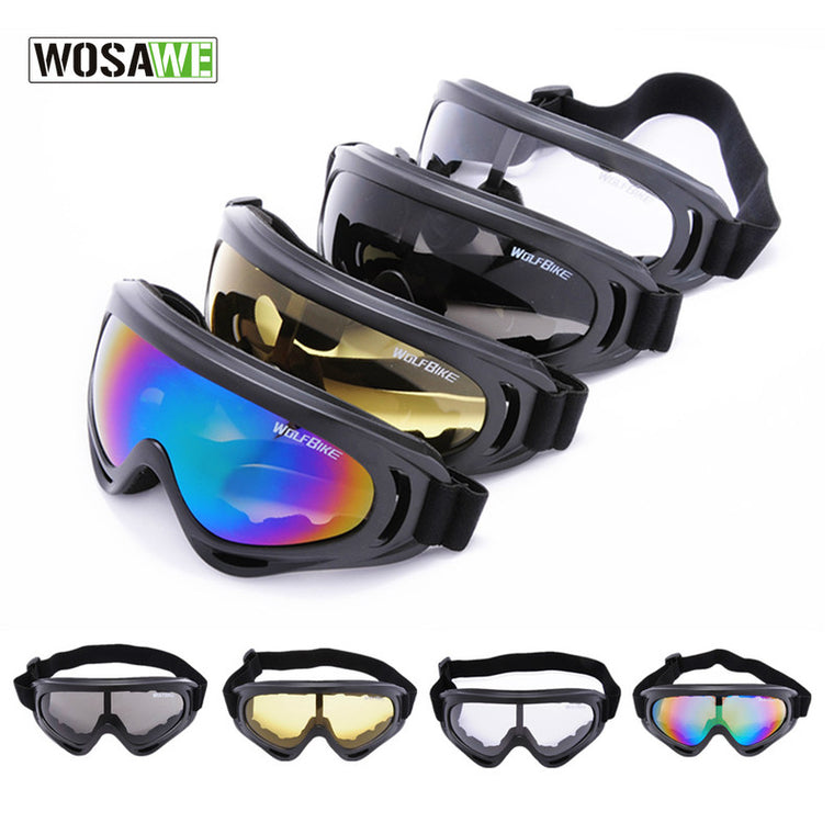 WOSAWE X400 UV Protection Outdoor Sports Goggles  Off-Road Cycling Eyewear