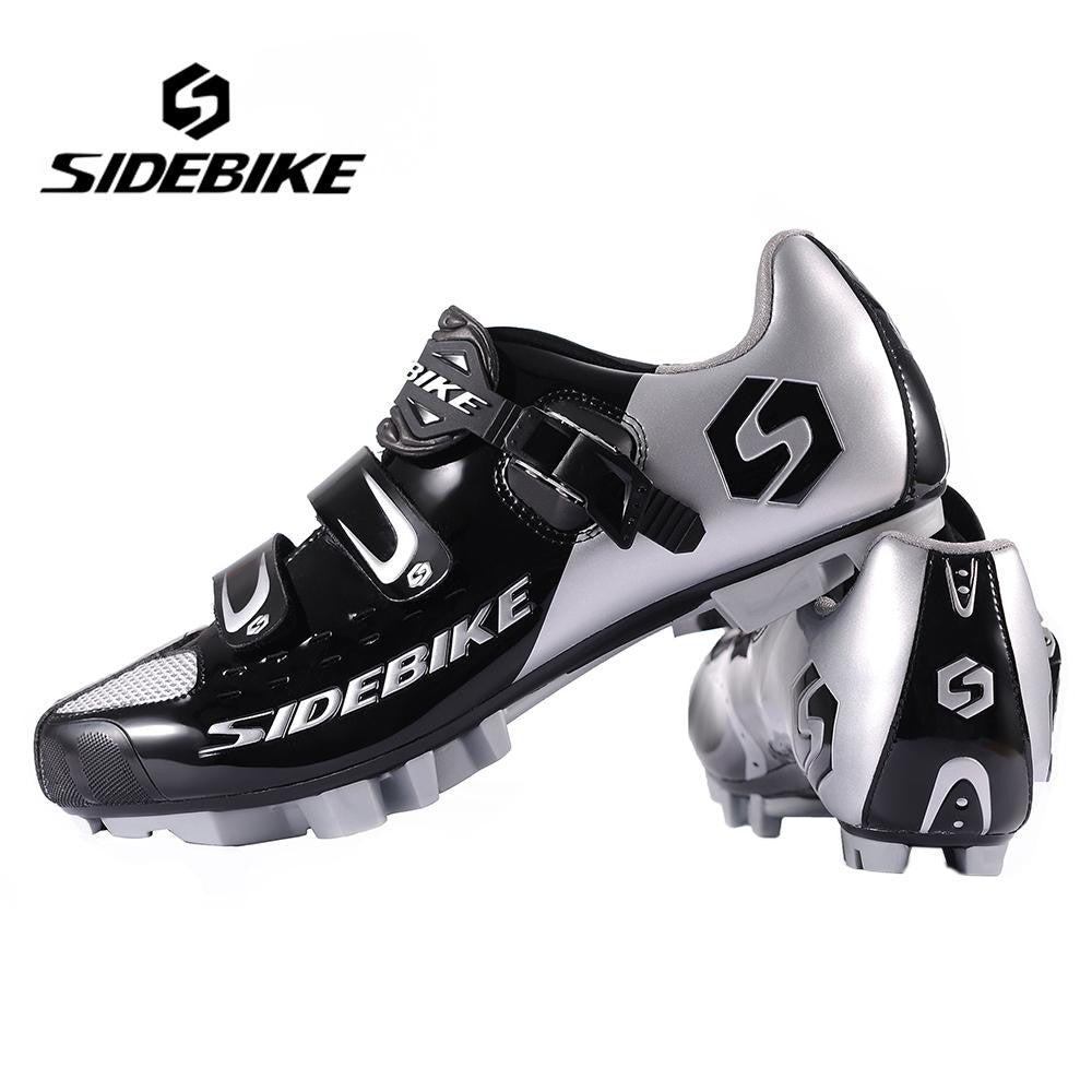 Hot SIDEBIKE Breathable MTB Cycling Shoes Adjustable Bike Shoes Size EUR 40-46.