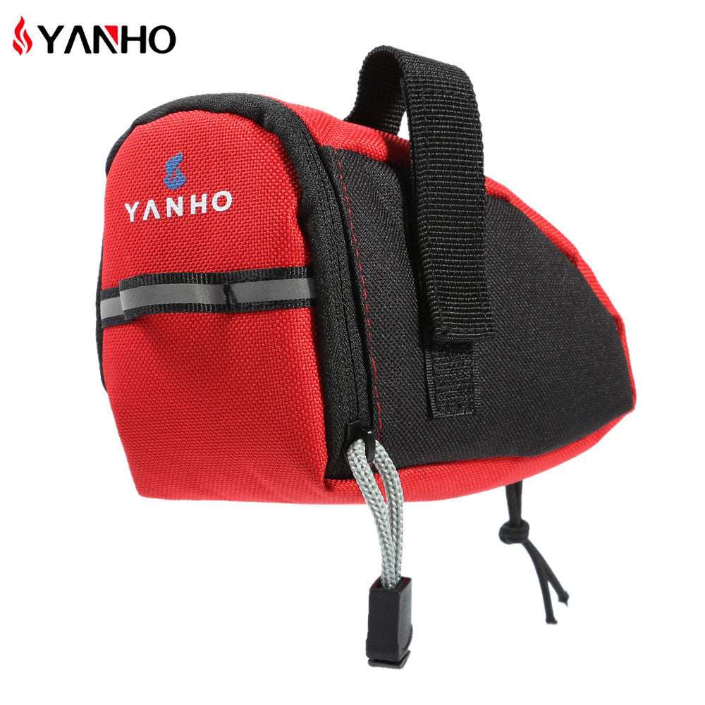Waterproof Bicycle Saddle Bags,15cm*10cm*8cm 3 color optional Reflective