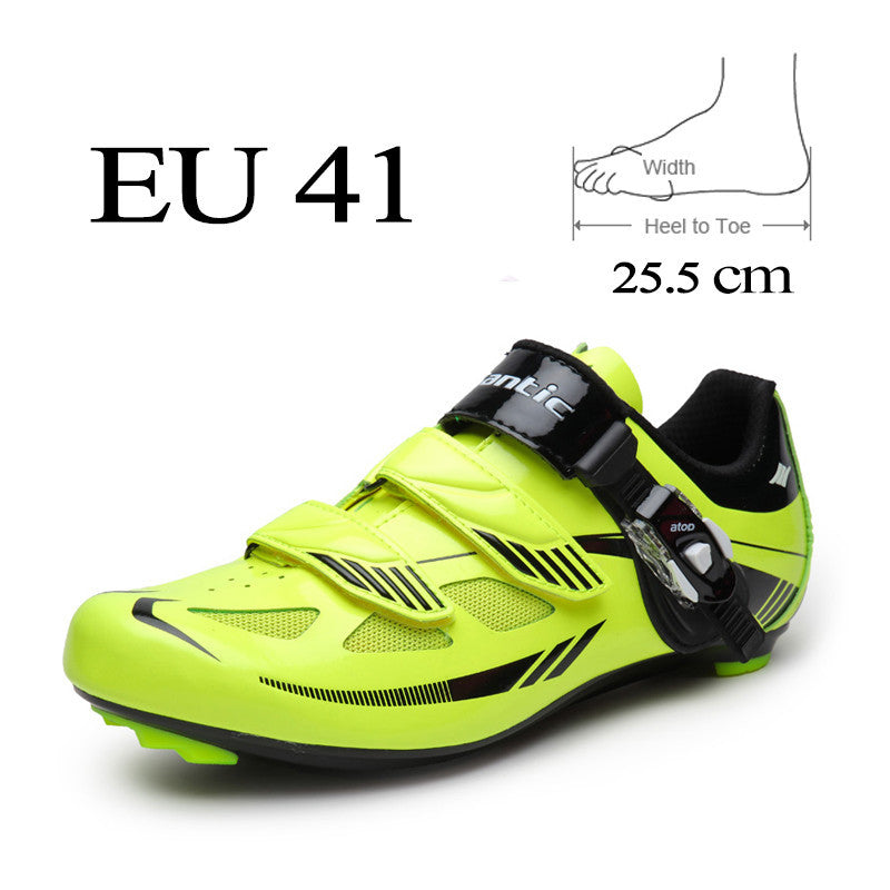 SANTIC  Cycling Shoes Men Nylon Bottom Self-locking