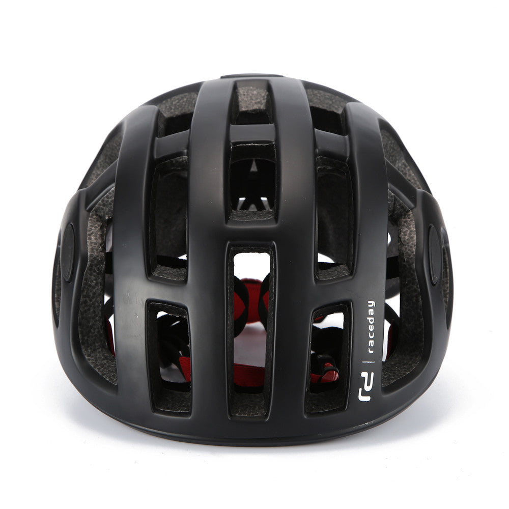 Classic Matte Cycling Helmet Pneumatic Mens Professional Racing IN-MOLD Safety Cap