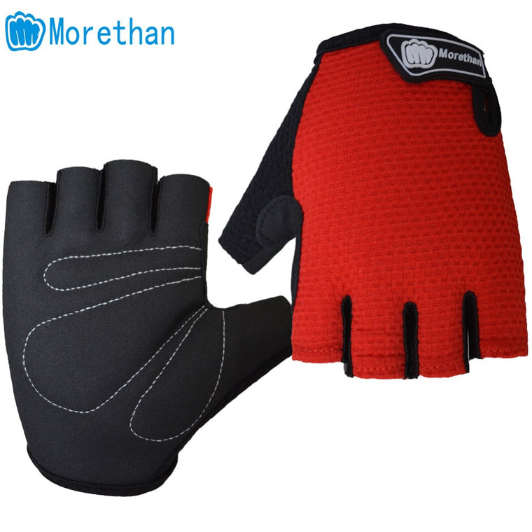 Unisex Breathable Elastic Antiskid Gel Cycling Gloves Half Finger Summer Guantes Ciclismo