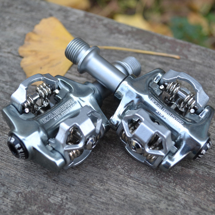 Original Exustar SPD auto lock Sealed Bearing Cycling Clipless bicycle pedals E-PM215