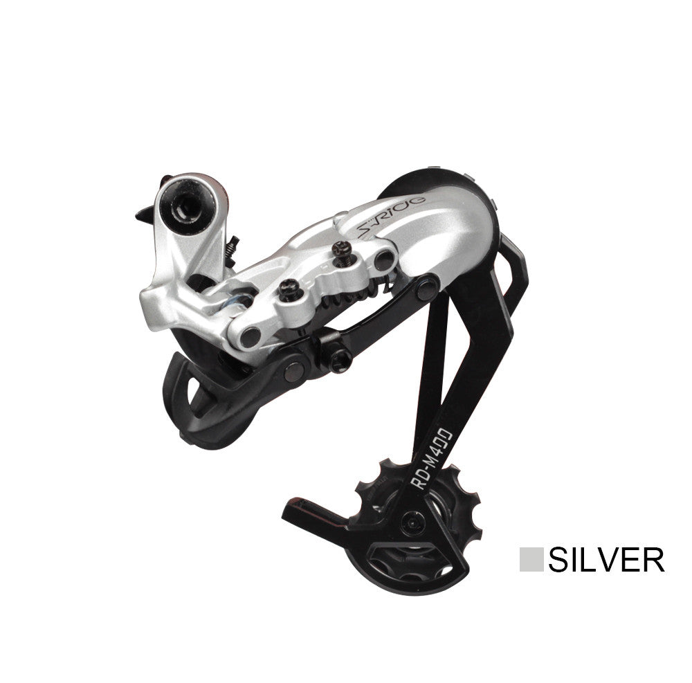 S-Ride RD-M400 Cycling 10 Speed Rear Aluminum Gear Rear Chain Shifter Compatible