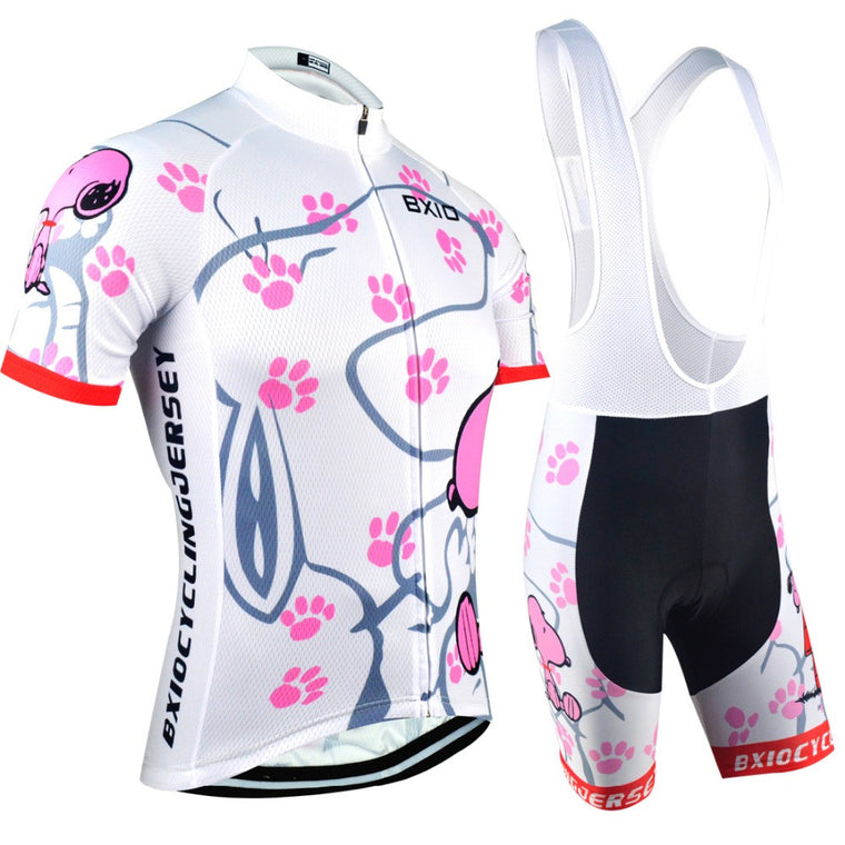 Womens Pro Cycling Jersey  Ropa De Camisa Ciclismo Short Sleeve BXIO Brand BX-0209W021