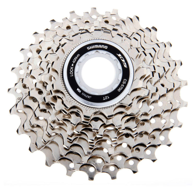 Shimano 105 CS-5700 10 SPD Speed HG Cassette Sprocket Road Cycling 12-25T 11-28T