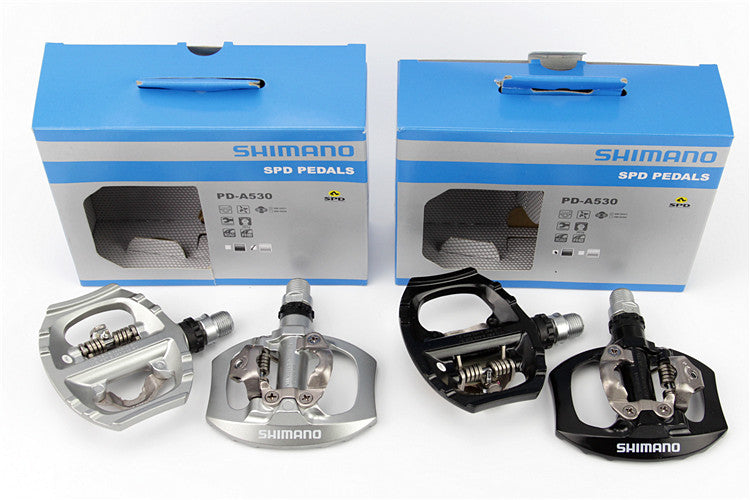SHIMANO Genuine PD-A530 clipless pedals mtb bicycle