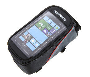 "Roswheel 4.2"" 4.8"" 5.5"" Front Panniers  Waterproof Touchscreen Saddle Bag"