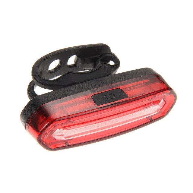Bicycle Front/Rear Tail Helmet 4 style Flash Lights USB Rechargeable COB LED H1E1