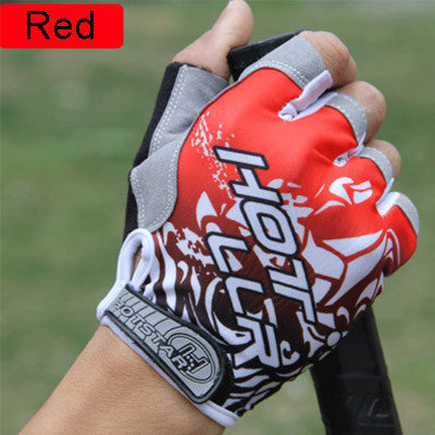 VICTGOAL Gel Pad Cycling Glove Half Finger Men Anti-Slip Breathable Shockproof N1004