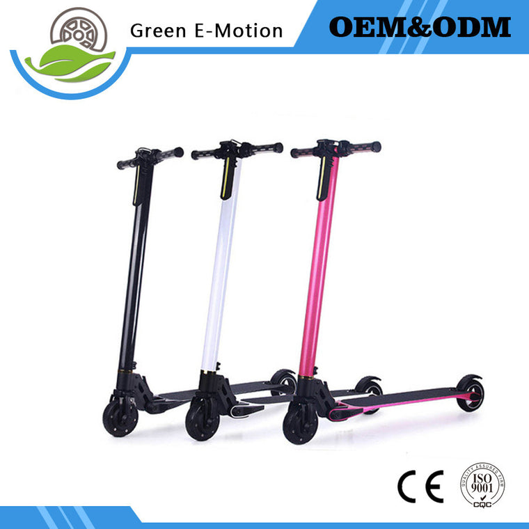 2017 New Carbon Fiber folding 2 Smart wheel Electric Scooter
