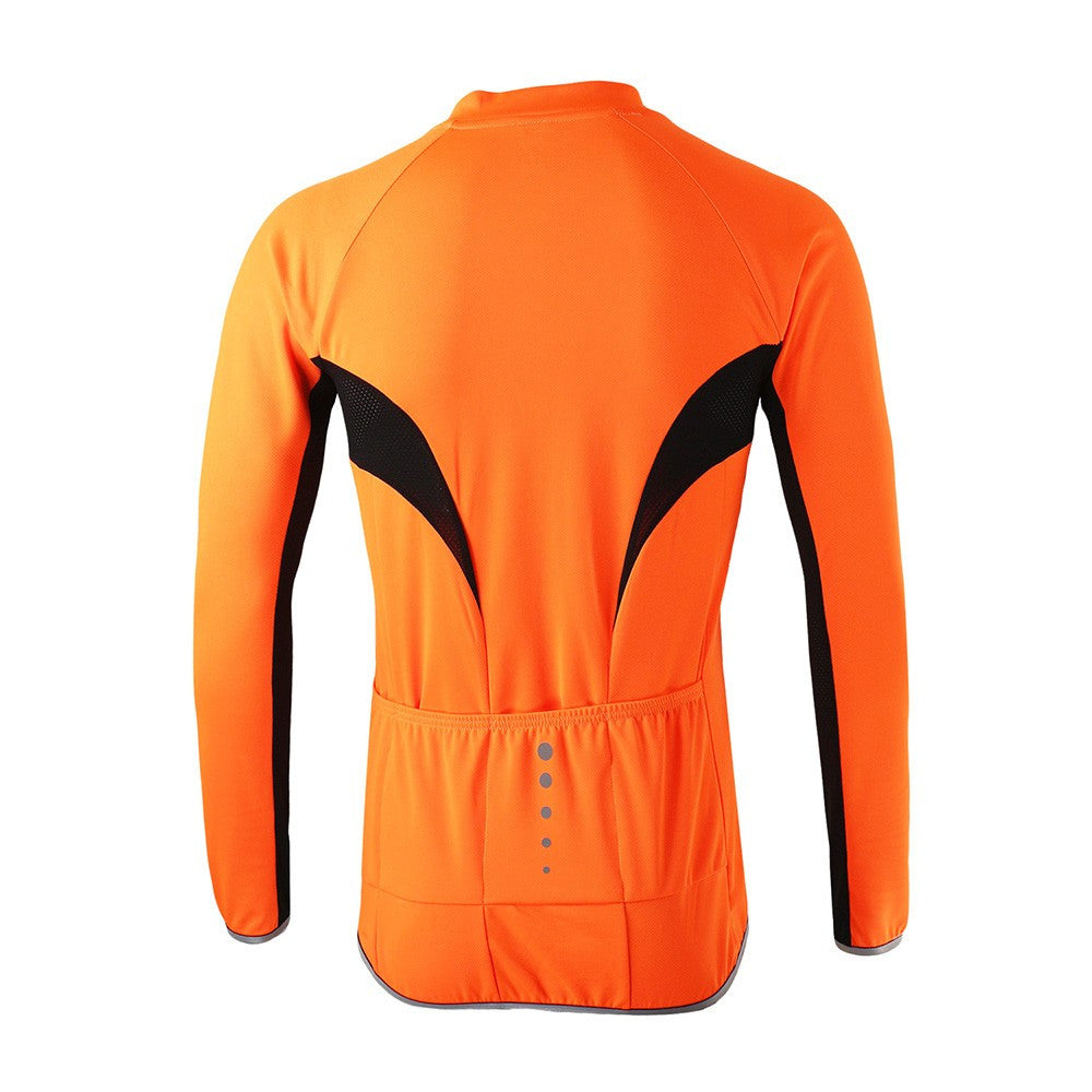 ARSUXEO Sports Cycling Jersey Spring Summer  Bicycle Long Sleeves MTB Clothing