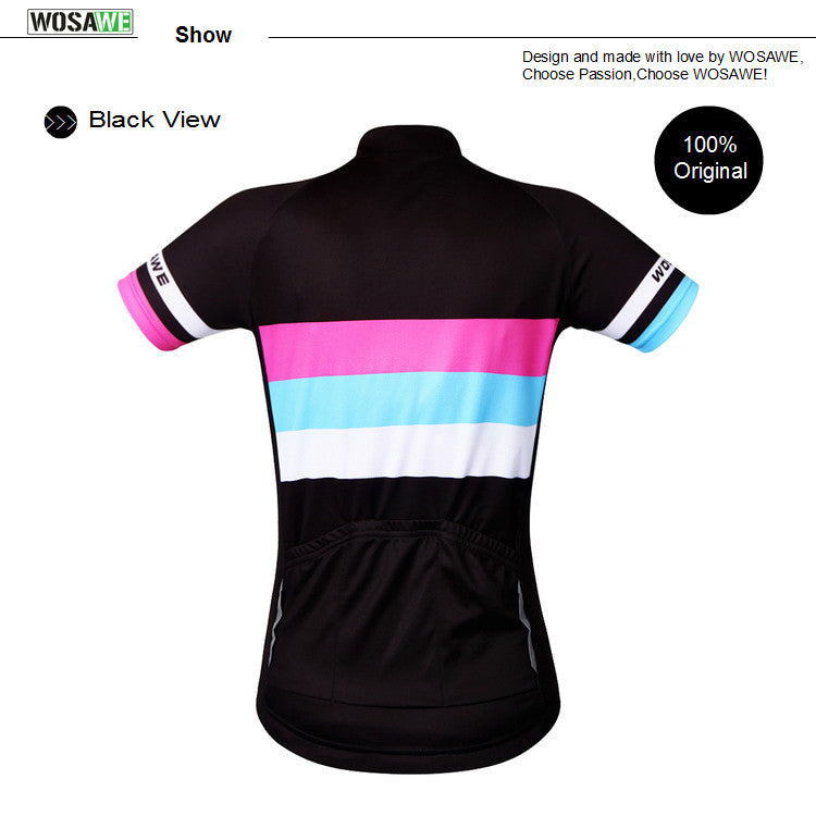 WOSAWE Women Roupa Ciclismo Cycling Jersey Cycling Quick-Dry Sports Wear Suit
