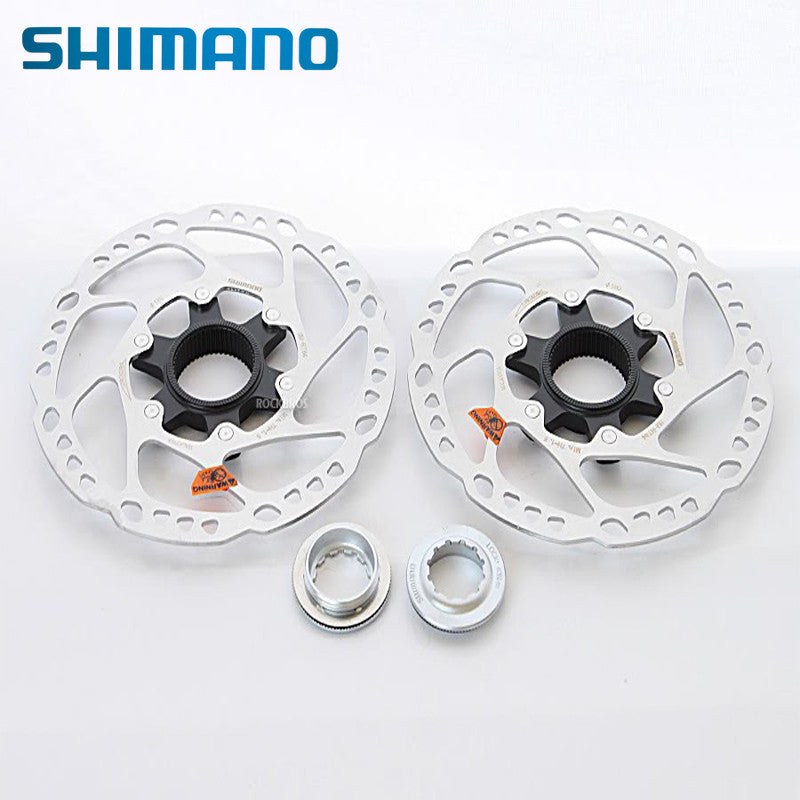 Shimano Original Stainless Steel Disc Brake Rotor Centerlock SLX SM-RT64 160mm 2pcs